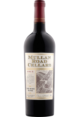Bottle of 2015 Mullan Road wine