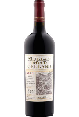 Bottle of 2016 Mullan Road wine