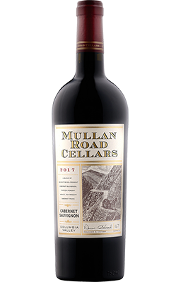 Bottle of 2017 Mullan Road Cabernet Sauvignon