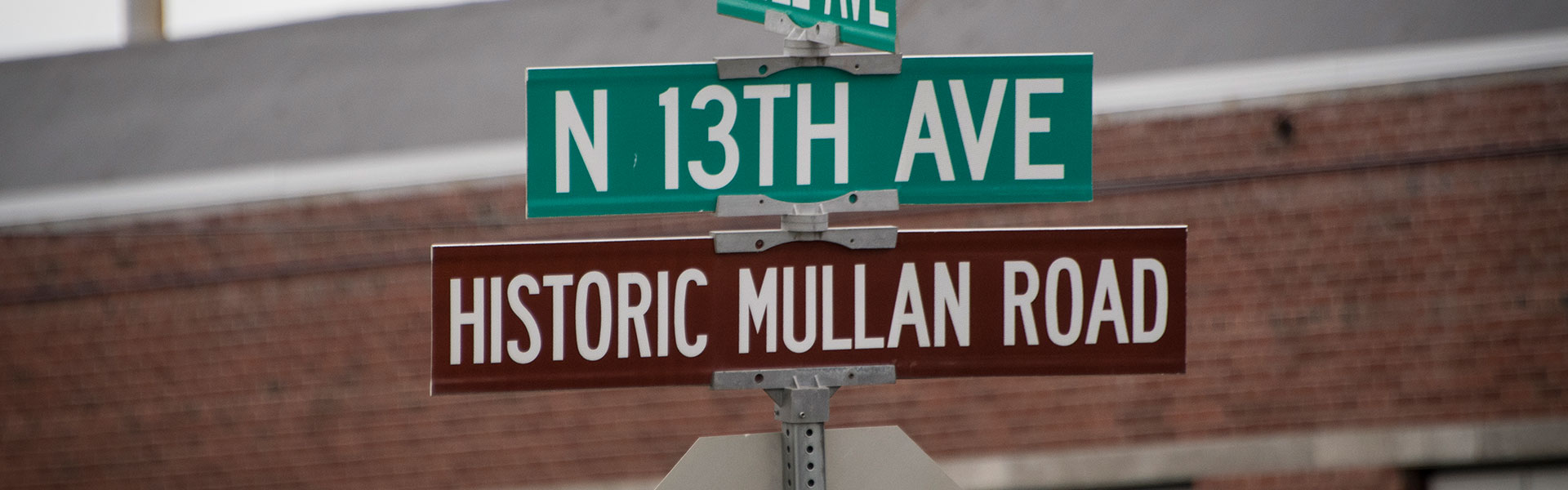 Street marker signs